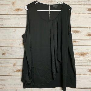 The Limited Black Flowy Dress Top Size 2x